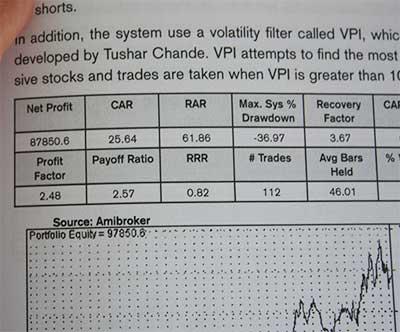 Quantitative trading systems close up image