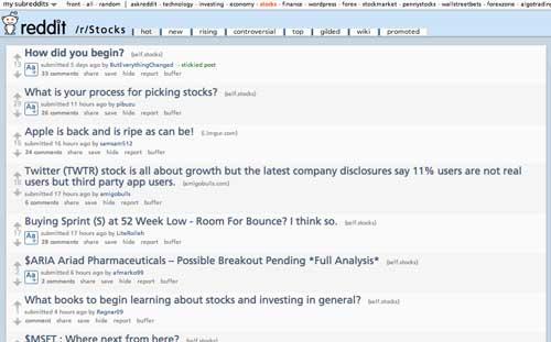 learn to trade stocks online free reddit forum