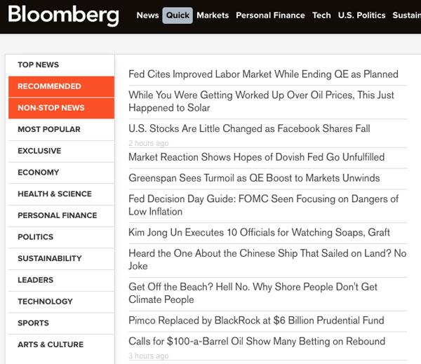bloomberg quick news
