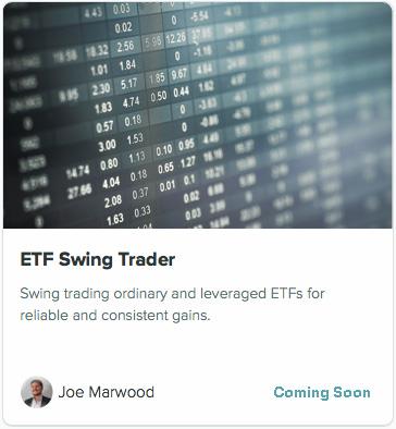 ETF swing trader signal service